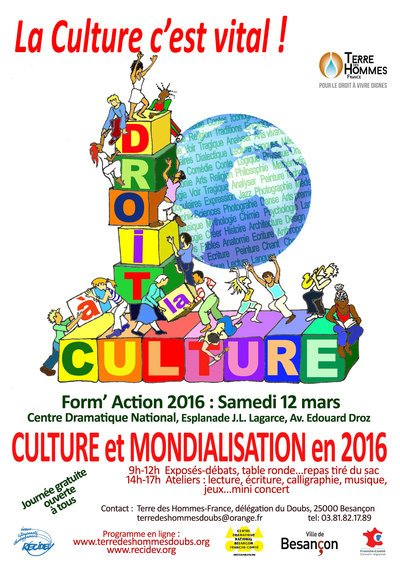 Formaction 2016 - le Droit à la culture